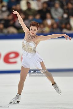 Ashley Wagner of the USA competes in the ladies's free skating during the day two of the NHK Trophy ISU Grand Prix of Figure Skating 2015 at the Big Hat on November 28, 2015 in Nagano, Japan.