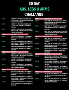 30 day abs and squats challenge - Google Search