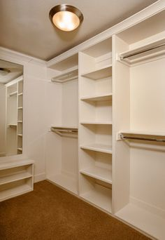 Walk In Closet Design Ideas, Pictures, Remodel and Decor