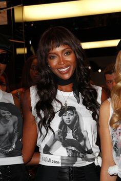 Naomi Campbell celebrates 25 years in modeling
