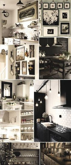 Decor ideas for the kitchen wall..