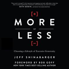 free ebook on a lifestyle of excessive generosity. recommended by seth godin, bob goff... and me.