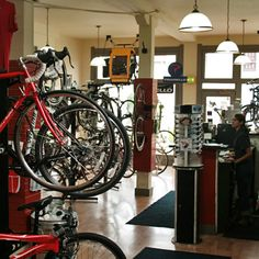 Love this bike shop. Revolution Bike and Bean in Bloomington, IN