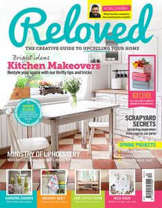 ReLoved Magazine Cover Issue #40 - Salvaged Inspirations