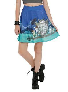 My Neighbor Totoro Makes For A Super Cute Circle Skirt Read more at http://fashionablygeek.com/dresses-and-skirts/my-neighbor-totoro-circle-skirt/#FkCyLXXyrm84eQCc.99