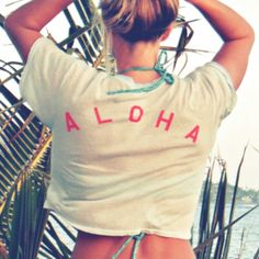 I want this shirt-it'd be great to throw on over a bikini with a bright pair of shorts!