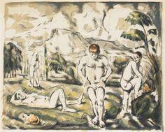 Paul Cézanne, Les Baigneurs
