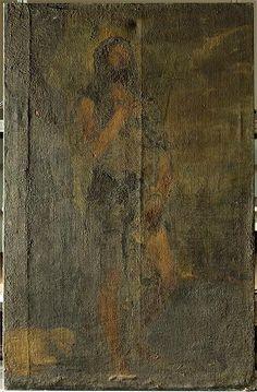El Museo del Prado descubre por vez primera la obra San Juan Bautista, h. 1555, atribuida recientemente a Tiziano y anteriormente catalogada como anónimo madrileño del siglo XVII. Tras años de estudio y restauración, la obra se ha revelado como un original del artista veneciano:  www.guiarte.com/...