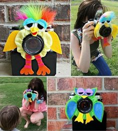 How to Get Kids to Look at the Camera Lens. Decorated hair scrunchies. Imagine the possibilities!