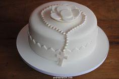 Primeira comunhão Comunion Cakes, First Holy Communion Cake, Confirmation Cakes, Celebration Cakes, Custom Cakes, Cake Art, Party Cakes, No Bake Cake, Cookie Decorating