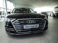 The luxury of choice. V8 Supercars, Audi A8, Car Show, Quad, Luxury Cars, Showroom, Super Cars, Automobile, Sports