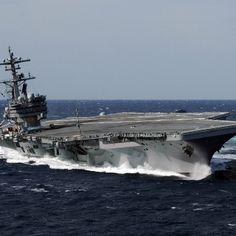 USS George HW Bush CVN 77 Nuclear Aircraft Carrier