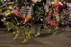 Jingle dancers @ the Southern Ute Bear Dance Pow Wow - 2012 ICTMN.com