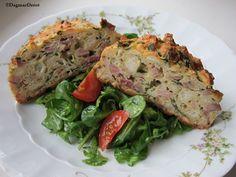 Velikonoeční nádivka se salátem podle Dagmar Derré Meatloaf, Recipes, Food, Recipies, Essen, Meals, Ripped Recipes, Yemek, Cooking Recipes