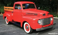1950 Ford F1 Pickup @carpictures classic cars, vintage cars, old cars, car pictures,