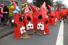 Rosenmontagszug: Viersen feiert Karneval