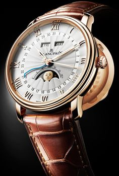 Blancpain Introduces Villeret Moon Phase Watch Watches Channel