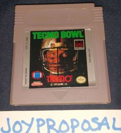 Tecmo Bowl Nintendo Game Boy American Football Arcade NFL Gameboy Sports GB