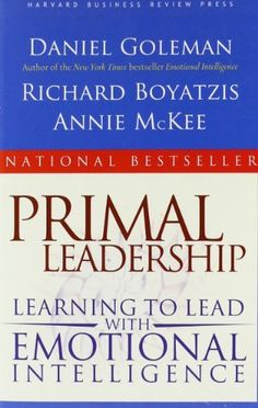 Primal Leadership: Learning to Lead with Emotional Intelligence by Daniel Goleman. $13.28. Publisher: Harvard Business Review Press (January 1, 2004). Author: Daniel Goleman. Publication: January 1, 2004. Save 39% Off!