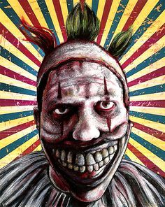 Twisty the Clown - AHS: Freak Show by chuckhodi
