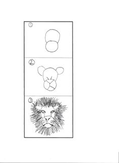 How+to+draw+a+lion.jpg 1,163×1,600 pixels