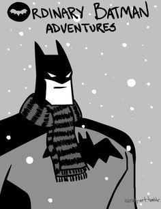 Ordinary Batman Adventures!  sarahj-art.tumblr