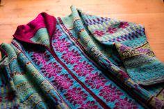 Fair Isles Jacket Fair Isles, Knitting, Jackets, Down Jackets, Tricot, Weaving, Knits, Crocheting, Cable Knitting