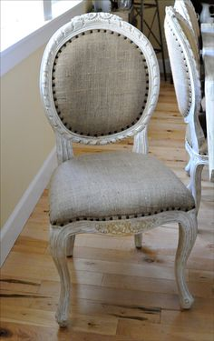 I am a big fan of mixing linen and painted antiques.. neutral with white allows use across decor styles.. eg: Prairie, modern vintage, French, country and even cottage/beach if paired with a painted table, for example..