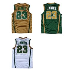 53b001990 Aliexpress.com   Buy St. Vincent St. Mary High School  23 Lebron James  Jersey
