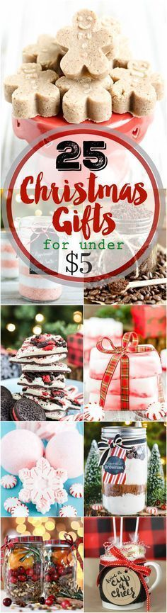 25 handmade christmas gifts under 5