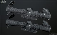 ArtStation - Sniper Ghost Warrior 3: NATO Scope 06, Rafal Brozyniak