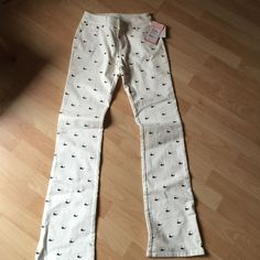 Lilly pants new with tags Lilly pants while with whales. New with tags! Lilly Pulitzer Jeans Boot Cut