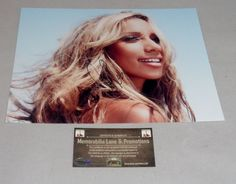 Leona Lewis autograph 8X10 PHOTO COA Memorabilia Lane & Promotions