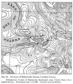 Navionics Minnesota Lakes Example Of Reef Areas