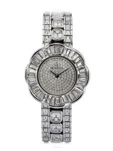 Montre Montega - Elie Chatila, or blanc, diamants, EC 09.392
