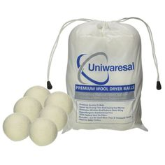 Amazon.com: Uniwaresal Premium Quality Wool Dryer Balls - 100% Safe and Harmless Ecofriendly Eliminates Wrinkles Natural Organic Reduce Drying Time Hypoallergenic No Fillers No Harmful Chemicals Handmade Reusable: Kitchen & Dining