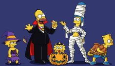 It's not Halloween unless you watch the damn Simpsons special :D