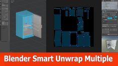 Blender Tip: Smart UV Unwrap Multiple Objects