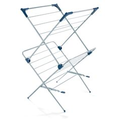 Polder Two-Tier Free Standing Clothes Drying Rack with Mesh Garment Dryer  Price: $33.32 campinghaven.com