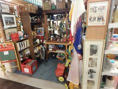 One of the places where Glenn brings his treasures.  This was remodelled in January.