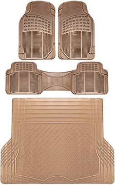 Honda Elite Front Rubber Floor Mats Utility Rears Universal Set