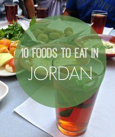 Jordanian food isnt