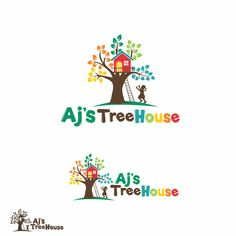 Design a fun logo for a Treehouse themed childcare facility by reyna.