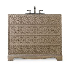 "Cole + Company Designer Series 42"" Blaire Chest Vanity Base"