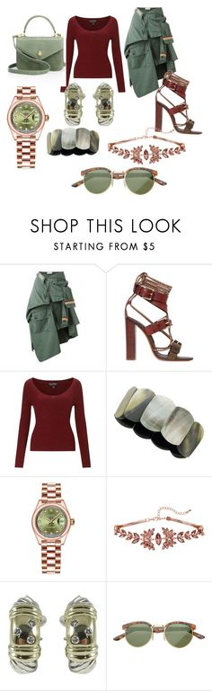 """Modern Romance"" by destinystarheaven ❤ liked on Polyvore featuring Faith Connexion, Etro, Miss Selfridge, Rolex, David Yurman, SW Global, Ethan K and modern"