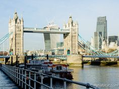 #TowerBridge standing tall in the midday bustle.