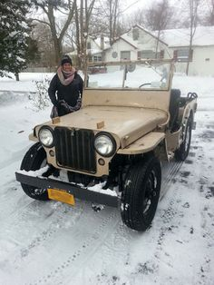 1946 Willys CJ-2A - Photo submitted by Stephen Polis.