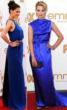 electric blue dresses