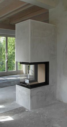 24 Elegant fireplace in the living room – Wall Paper 2020 Home Fireplace, Modern Fireplace, Living Room With Fireplace, Fireplace Design, Casa Top, Loft Industrial, Home Projects, Living Room Designs, Home Furniture