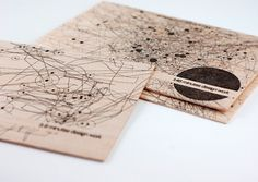INDIVIDUAL DESIGNED POSTCARDS | Mouse tracking during design work |  by Martina Fagschlunger, via Behance